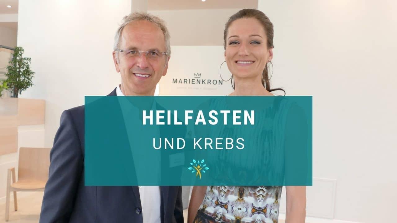 Prof. Dr. Andreas Michalsen und Mag. Sandra M. Exl bei einem Interview